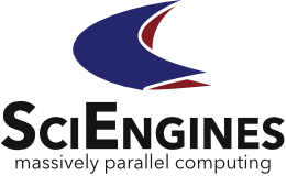 SciEngines – High Performance Reconfigurable Computing Retina Logo